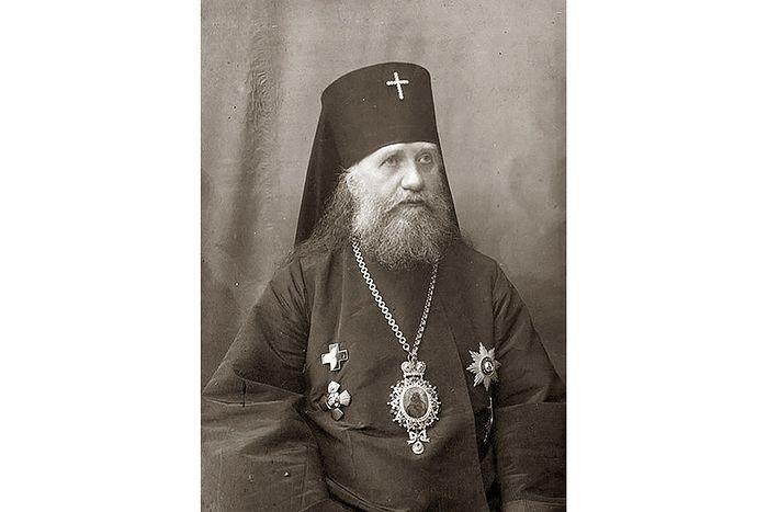 Архиепископ Виленский и Литовский Тихон (Беллавин). Фото 1910-х гг.