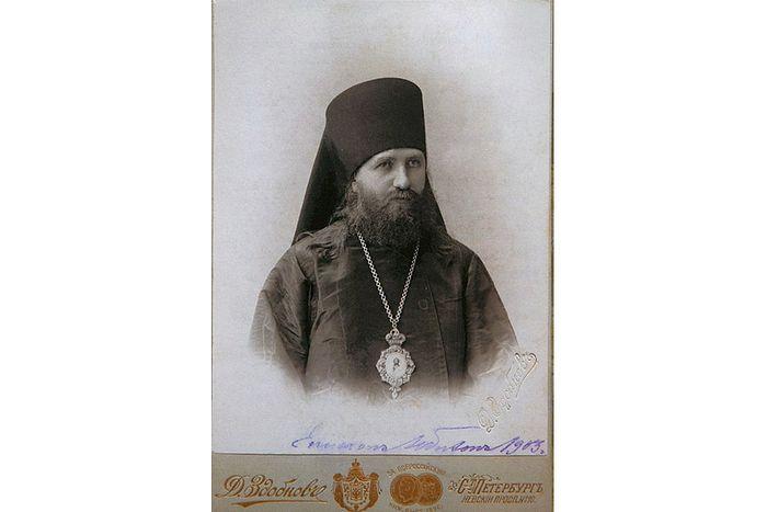 Епископ Люблинский, викарий Холмско-Варшавской епархии Тихон. Фото 1899 г.