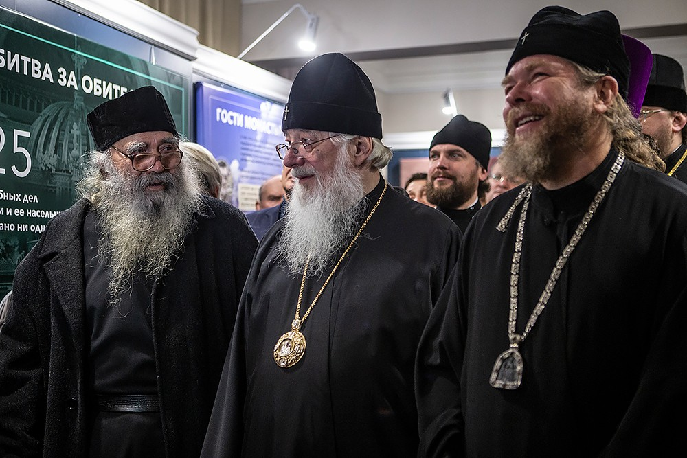 Архимандрит Варнава (Баскаков), митрополит Новгородский и Старорусский Лев и владыка Тихон