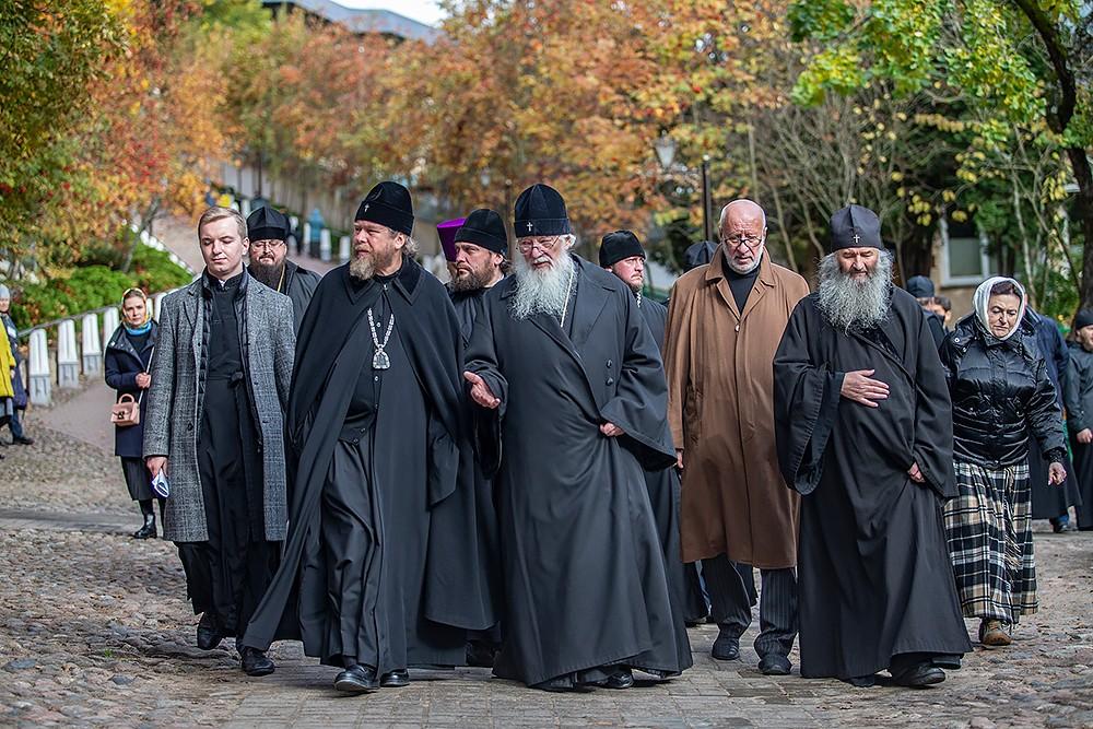 Гости дней памяти архимандрита Алипия