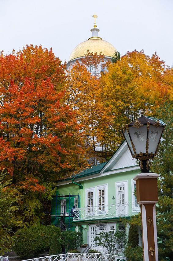 Золотой купол Михайловского собора