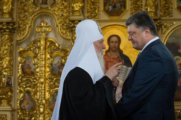 Денисенко и бивши председник Порошенко