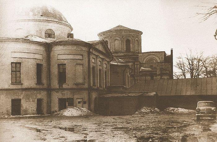 Покровский монастырь в годы разрухи