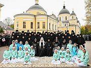 Святейший Патриарх Кирилл: Каждая обитель должна нести особую ответственность за детей и за молодежь