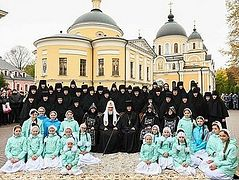 Holy Protection Monastery, home of St. Matrona's relics, celebrates 25th anniversary of resumed monastic life
