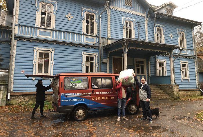 Реабилитационный центр «Ручей» получил благотворительную помощь от Псковской епархии