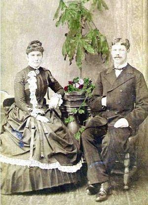 Родители сщмч. Леонида Александр Иванович и Елизавета Ивановна Виноградов