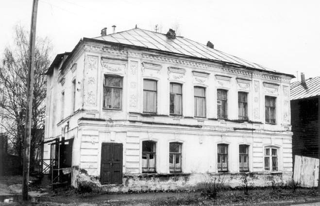 Дом, в котором проживала семья Виноградовых в Костроме по ул. Шагова (Марьинская), 36. Здесь родился будущий исповедник веры Леонид Виноградов