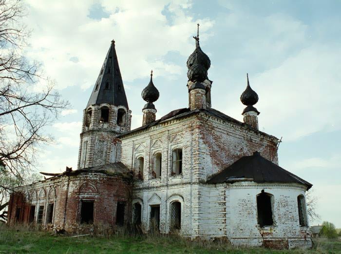 Храм Рождества Христова с. Сокольское