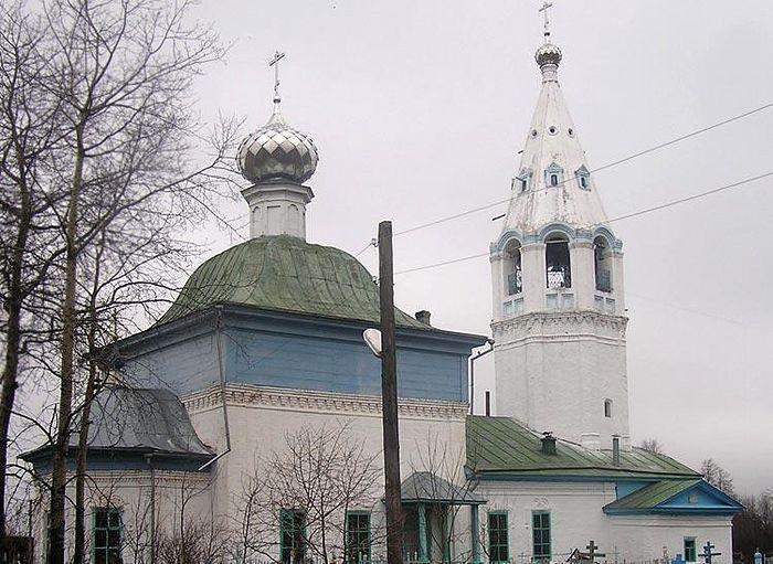 Благовещенский храм с. Воронцово Пучежского р-на Ивановской обл.