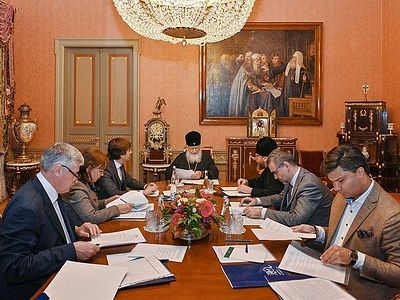 Патриарх Кирилл провел совещание, посвященное подготовке II съезда Общества русской словесности