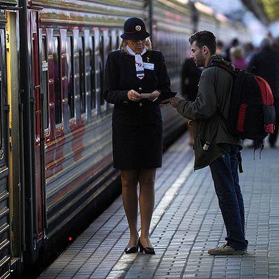 Кто же задержал поезд?