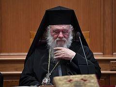 Πρωτ. Νικόλαος Σαββόπουλος: «Στην Έκτακτη Ι.Σ.Ι. έγινε Συνοδικό Πραξικόπημα εις βάρος του Αρχιεπισκόπου»