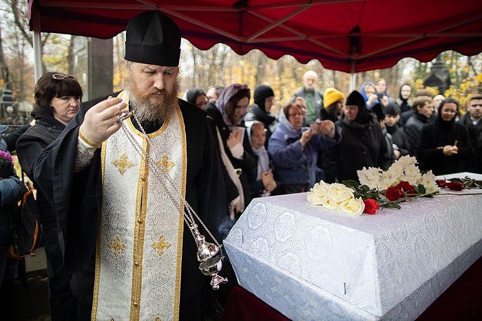В Троице-Сергиеву лавру перенесены останки духовника обители схиархимандрита Захарии (1850-1936)