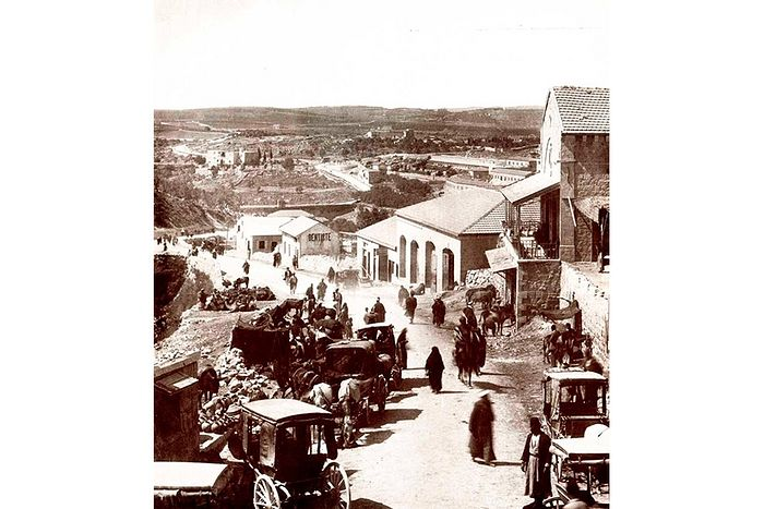 Вид из Яффских ворот старого города Иерусалима