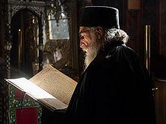 Старец Варнава Старый из скита Святого Василия Великого