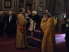 ROCOR hierarch serves moleben for Cossacks at cathedral of newly-reunited Archdiocese of Western Europe (+ VIDEO)