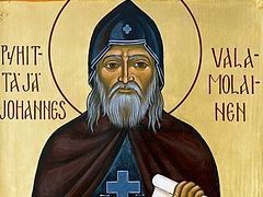 Relics of St. John of Valaam exhumed at New Valaam Monastery in Finland