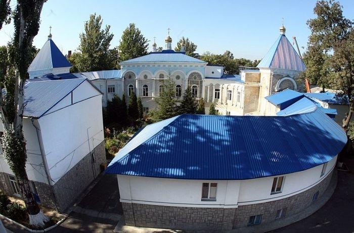 Архангело-Михайловская обитель сегодня. Вид сверху