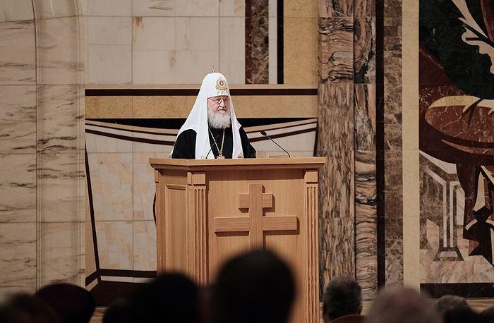 Патриарх Кирилл возглавил церемонию открытия II Международного съезда регентов и певчих Русской Православной Церкви