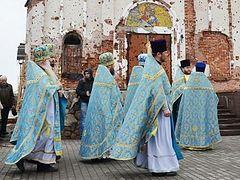 Ντονέτσκ. Μεγάλη πανήγυρις της μονής Ιβήρων