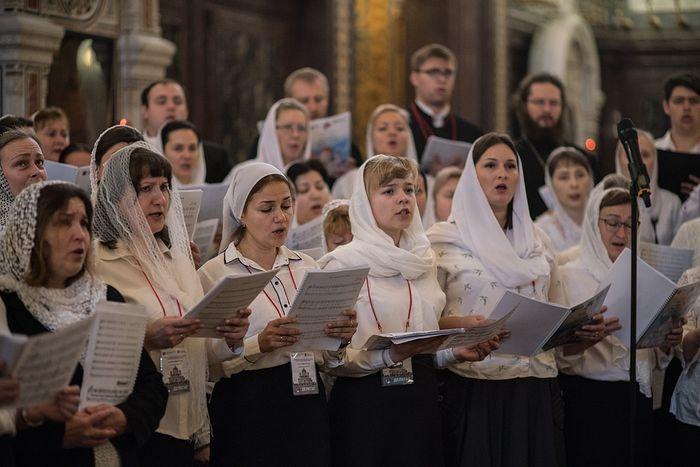 Завершился II Международный съезд регентов и певчих Русской Православной Церкви