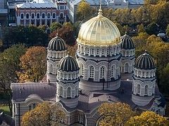 Number of Orthodox parishes in Latvia has increased by 1/3 since 1992