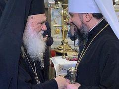 Archbishop of Greece officially recognizes Ukrainian schismatics