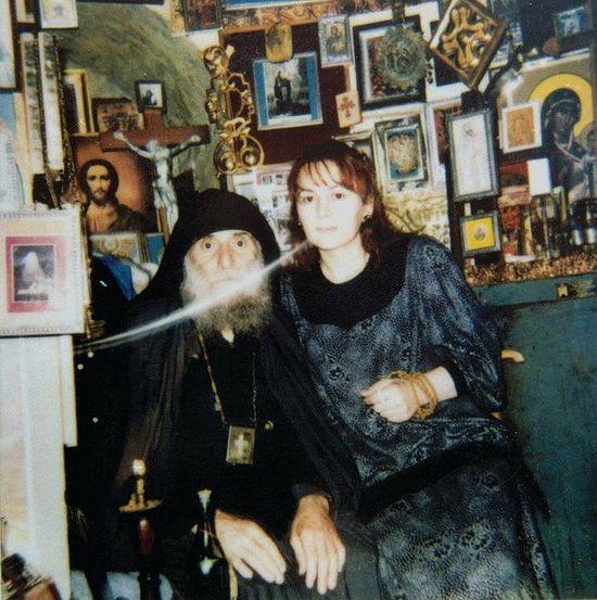 Старец Гавриил и Манана Хорбаладзе