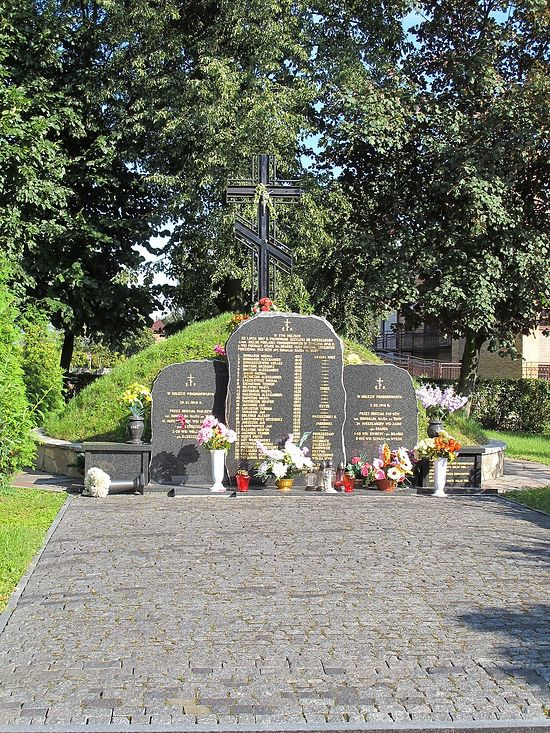 The grave of the 30 martyrs