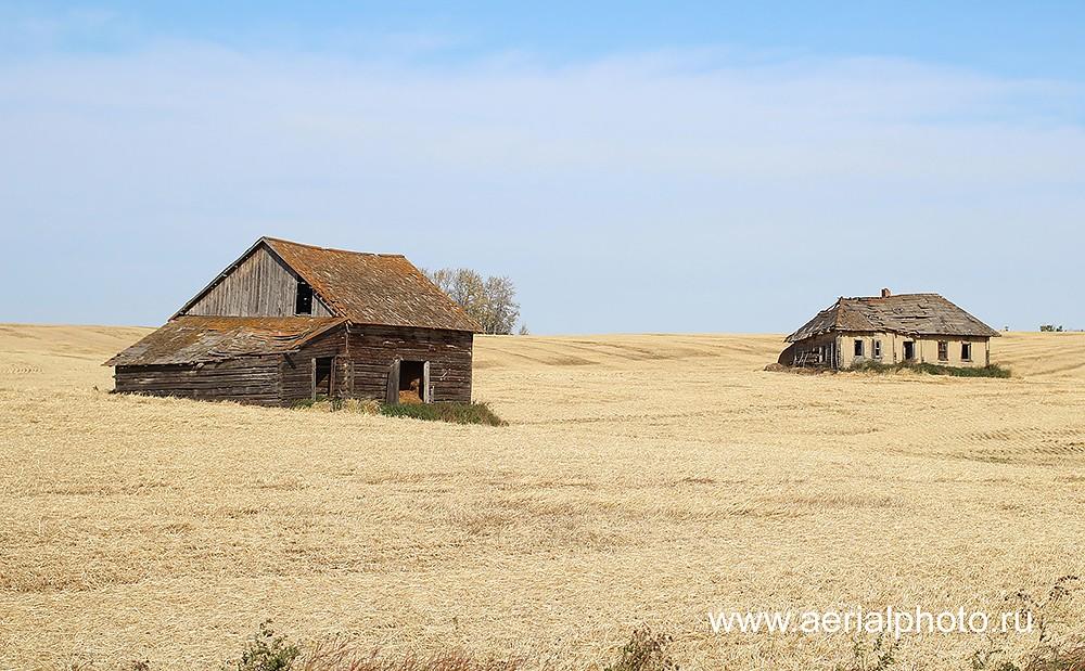 Остатки прежних поселений