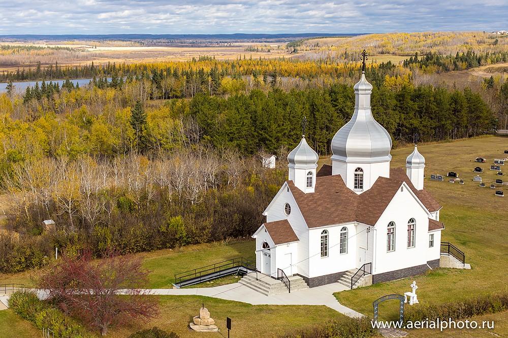 Церковь Святой Троицы. Смоуки Лейк