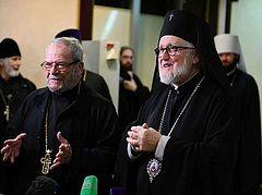 Делегация Архиепископии западноевропейских приходов русской традиции прибыла в Москву