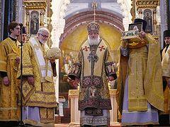 Слово после Литургии в Храме Христа Спасителя с участием делегации из Архиепископии западноевропейских приходов русской традиции