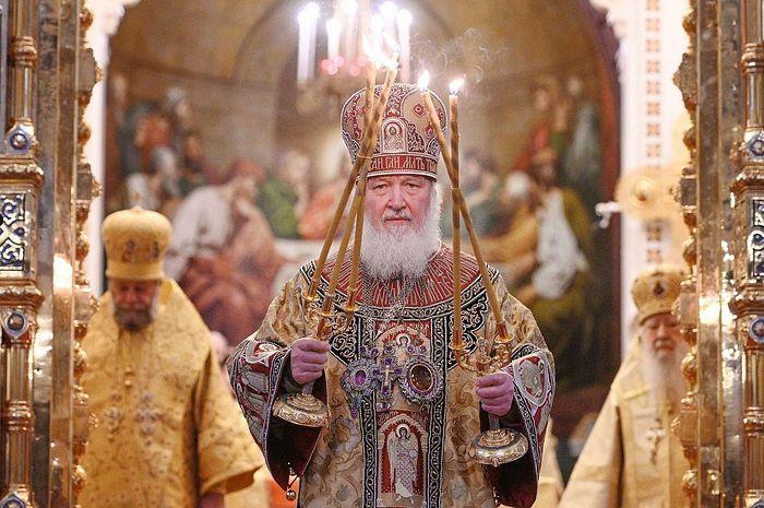 Святейший Патриарх Кирилл прекратил поминовение Блаженнейшего Архиепископа Афинского Иеронима за богослужением