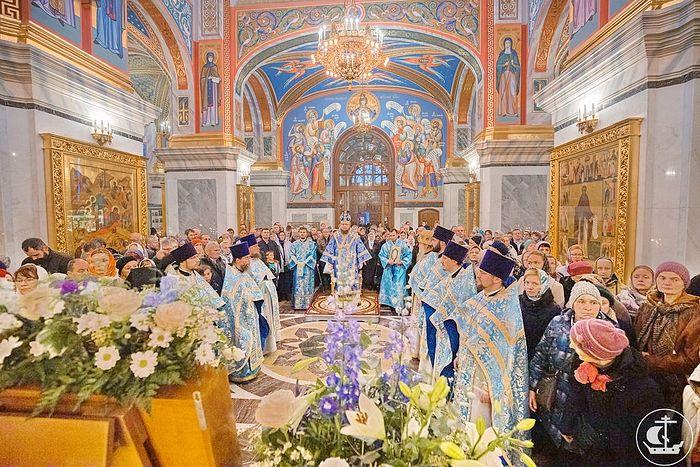 В Воскресенском Новодевичьем монастыре Санкт-Петербурга отпраздновали 170-летие основания обители