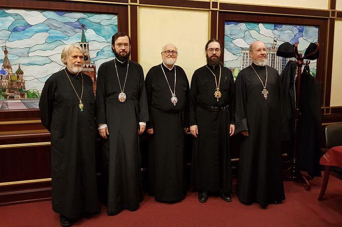 Завершилось пребывание в России делегации Архиепископии западноевропейских приходов русской традиции