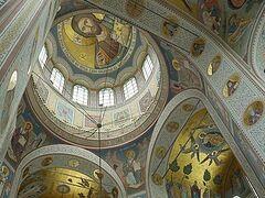 Καινούργια τοιχογράφηση του Ναού του Αγίου Νικoλάου, της Ι. Μονής Αγίας Σκέπης του Χότκοβο από προσχέδια έως τοιχογραφίες