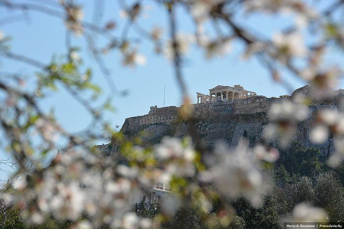 Вид на Акрополь. Фото: Антон Поспелов / Православие.Ru