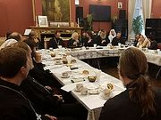 В храме царевича Димитрия прошло очередное заседание Комиссии по больничному служению
