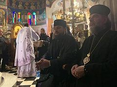 Schismatic hierarchs reportedly not allowed to serve Liturgies during pilgrimage to Greece