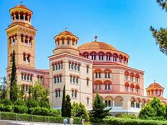 Video of 1994 consecration of St. Nektarios Cathedral on Aegina available online (+ VIDEO)