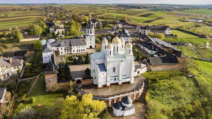 Holy Mountain Dormition Monastery of Zymne. Photo: monasteries.org.ua