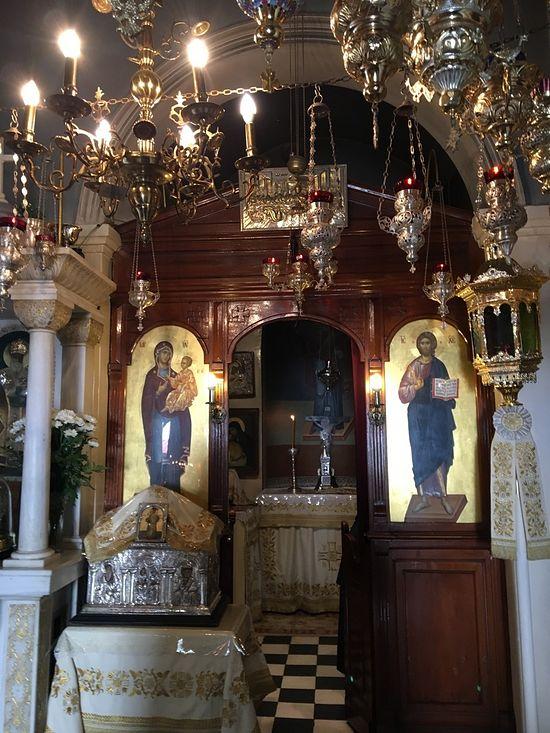 Ιερό τού Αγίου Νεκταρίου