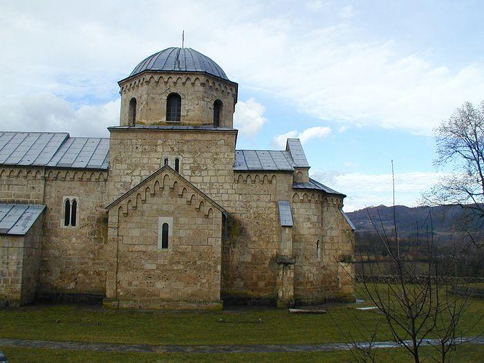 Монастырь Градац в наши дни