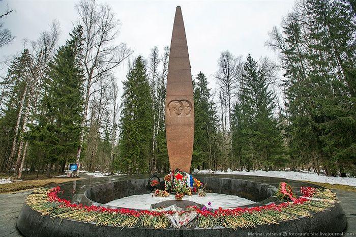 Место гибели Юрия Гагарина