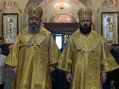 Polish hierarch concelebrates with Ukrainian hierarch to show support for canonical Church