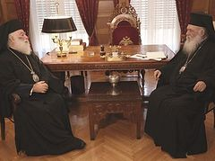 Patriarch of Alexandria and Archbishop of Greece meet in Athens