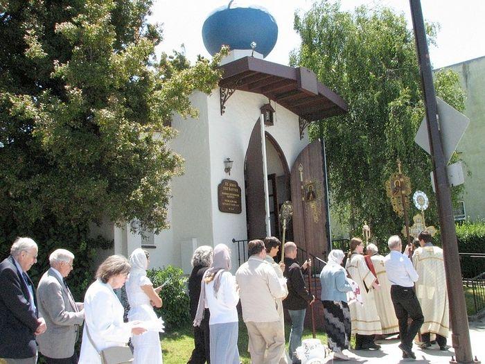 Иоанно-Предтеченский храм в Беркли. Фото: stjohnthebaptistberkeley.org