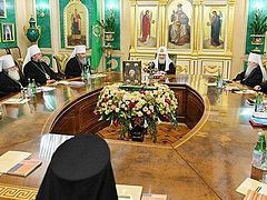 Russian Synod expected to evaluate Alexandria's recognition of schismatics at session on Friday